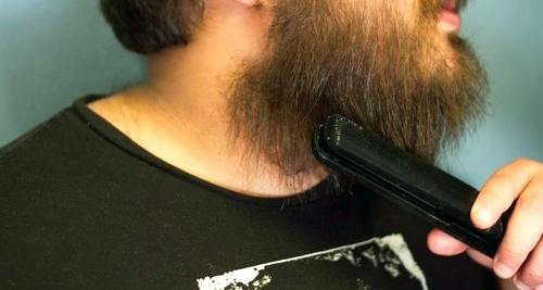 electric beard straightener