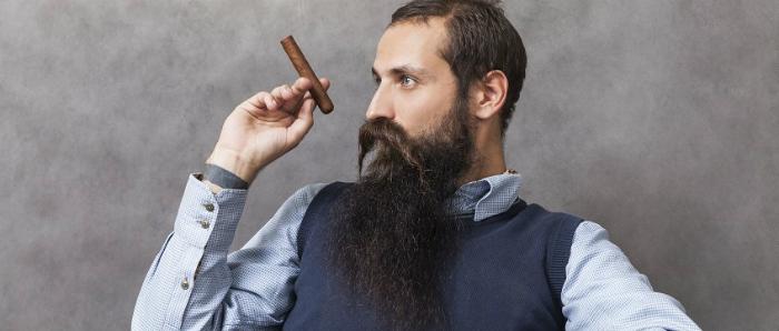 maintaining a long beard
