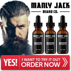 Manly Jack Beard Growth Oil